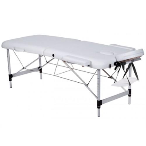 Двухсекционный аллюминиевый  массажный стол