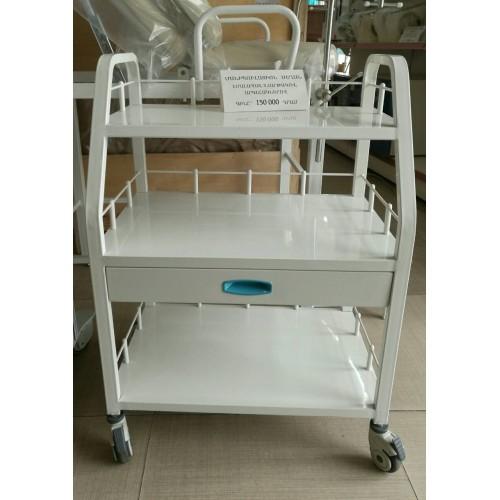Манипуляционный столик с 3 платформами