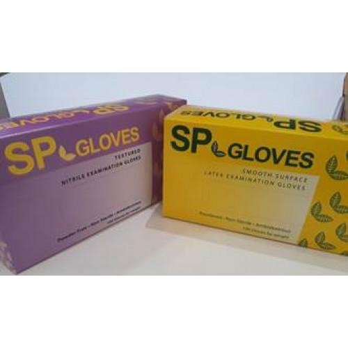 Нитрильные и латекс перчатки