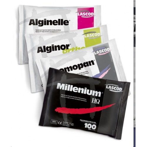 Альгинатные слепочные материалы премиум класса (LASCOD, Италия)