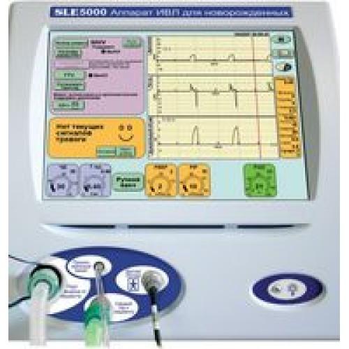 Аппарат искусственной вентиляции легких SLE 5000 (УОМЗ)